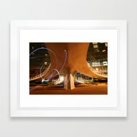 Squiggle  Framed Art Print