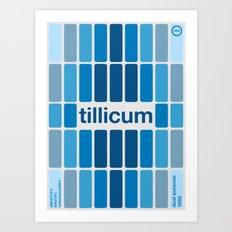 tillicum single hop Art Print