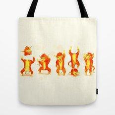 Fire Gang  Tote Bag