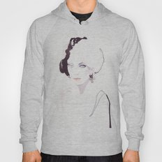 Fashion illustration in watercolors Hoody