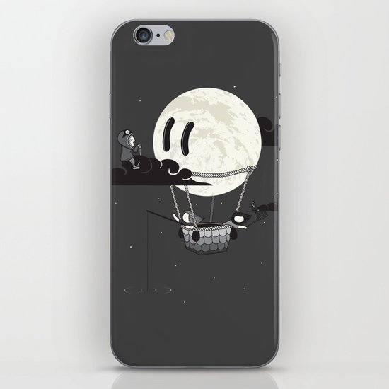 You Should See The Moon In Flight iPhone & iPod Skin