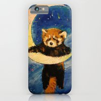 Red Panda Stars iPhone 6 Slim Case