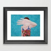 Das Ist Nicht Okay Framed Art Print