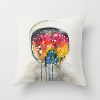 Somewhere in Space, I'm Dreaming Throw Pillow