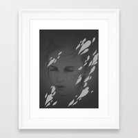 Faded II Framed Art Print