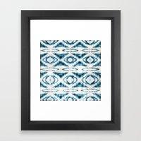 BOHEMIAN BLUES Framed Art Print