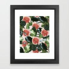 Figs & Leaves #society6 #decor #buyart Framed Art Print