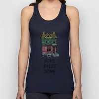 Home Sweet Home Quotes Unisex Tank Top