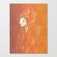 Frambuesas Canvas Print