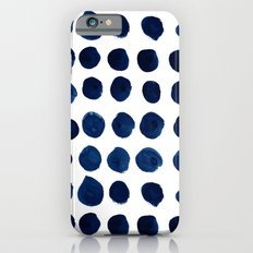Blue Dots Slim Case iPhone 6s