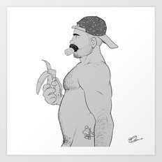 #Monkeys no.2 Art Print