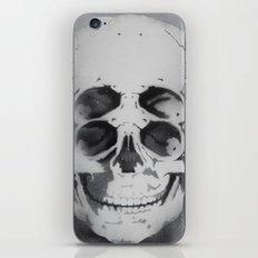 the 4i skull stencil art 1 iPhone & iPod Skin