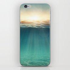 Sea Sunshine iPhone & iPod Skin