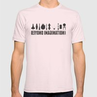 Beyond imagination Mens Fitted Tee Light Pink SMALL
