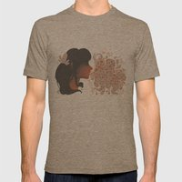 Bubbles Mens Fitted Tee Tri-Coffee SMALL