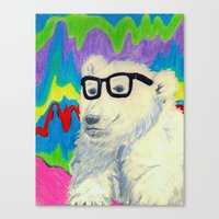 Colorful Thinking Canvas Print