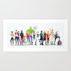 super rockers Art Print