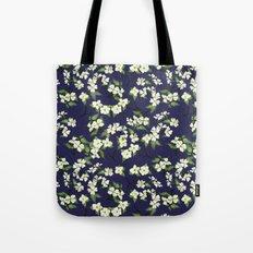 April blooms(Dogwoods_blue) Tote Bag
