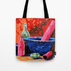 Still life collage Tote Bag