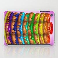 Donuts I 'Sweet Rainbow' iPad Case