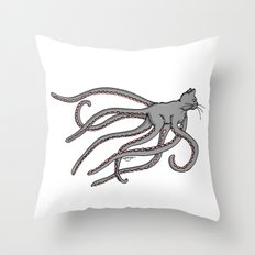 Octopussy (2014) colour Throw Pillow