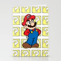 It's A Me Stationery Cards