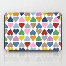 Diamond Hearts Repeat iPad Case