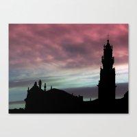 Clerigos Tower Oporto Canvas Print
