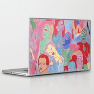 Laptop & iPad Skin featuring Alien Party Hard by Clara López