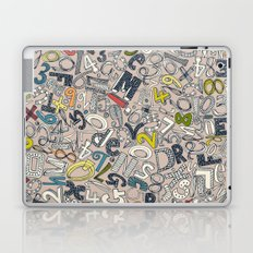 A1B2C3 clay Laptop & iPad Skin