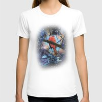 The Cardinals Land In Blue Womens Fitted Tee White SMALL