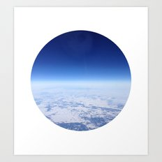 Telescope 12 space Art Print