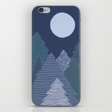 Magic Night Trees iPhone & iPod Skin