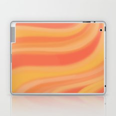Peachy Waves Laptop & iPad Skin