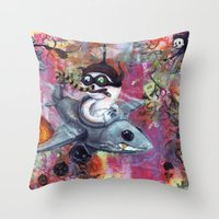 FlyGuys Throw Pillow