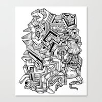 It's complicated... Canvas Print