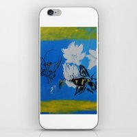 Chipper And The Bee iPhone & iPod Skin