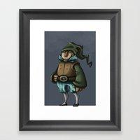 Dwarf Prince or Merchant Framed Art Print