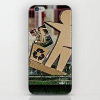 Recycling iPhone & iPod Skin