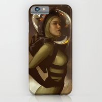 iPhone & iPod Case featuring Spaceman by Kelly Perry