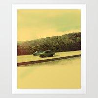 Cuban Cars Art Print
