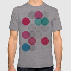 Petri Mens Fitted Tee Athletic Grey SMALL