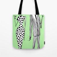 Him & Her Tote Bag