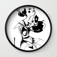 I hope that you don't hate me by now - Emilie Record Wall Clock