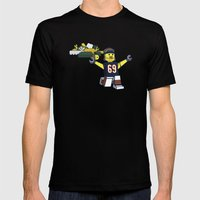 Bears Bricked: Jared Allen Mens Fitted Tee Black SMALL