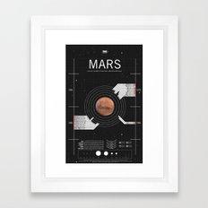 OMG SPACE: Mars 1960 - 1980 Framed Art Print