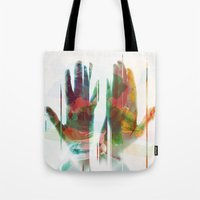 painter's hands Tote Bag
