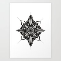 FLWR3 Art Print