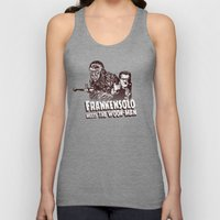 Frankensolo Meets The Wo… Unisex Tank Top