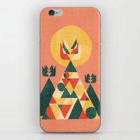 Sunset Tipi iPhone & iPod Skin